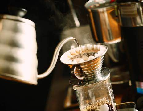 Kaffebrygning hos Kaffeteriet