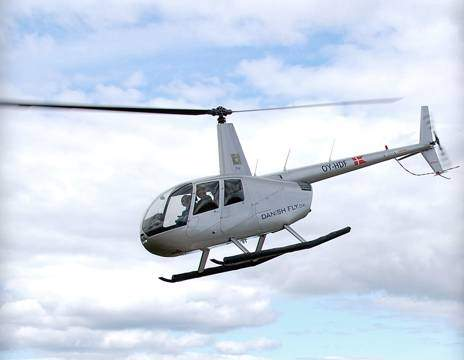helikoptertur over København med Danish Fly