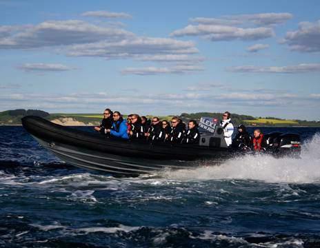 RIB Tur på Øresund