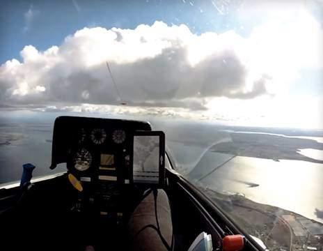 Svæveflyvning hos Østsjællands Flyveklub
