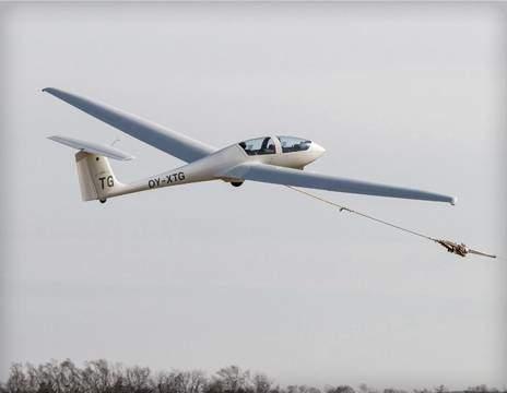 Svæveflyvning hos Herning Svæveflyveklub