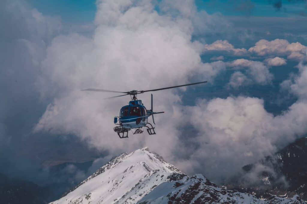 Helikoptertur for 2
