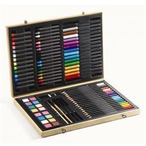 kuffert med farver fra Djeco
