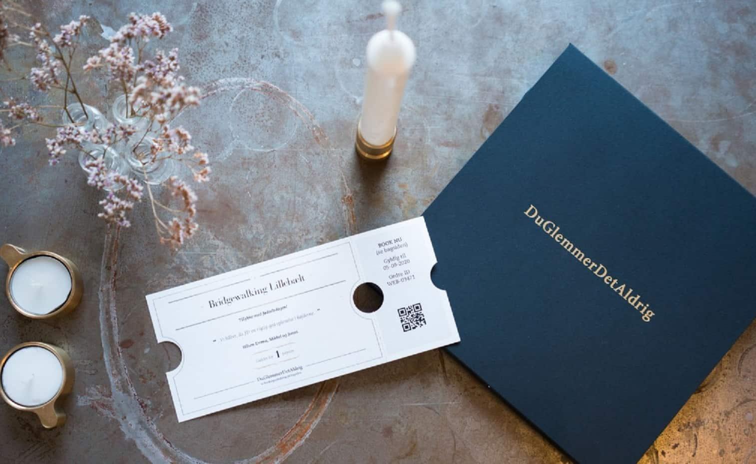 Oplevelsesgavekort Til DuGlemmerDetAldrig