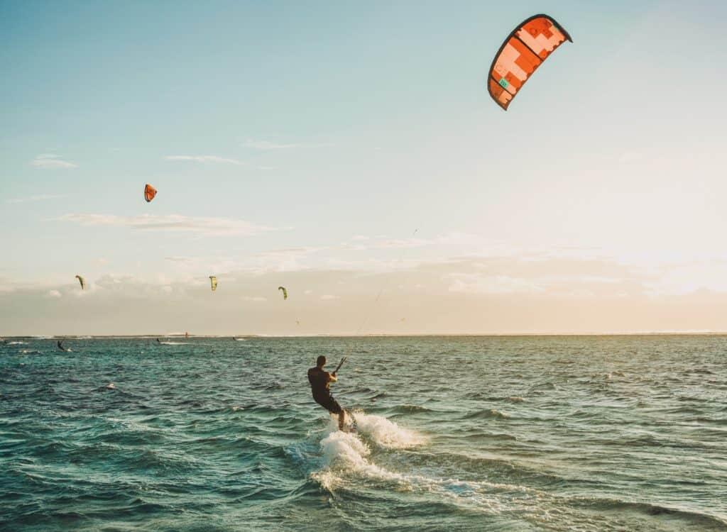 kitesurfing kursus