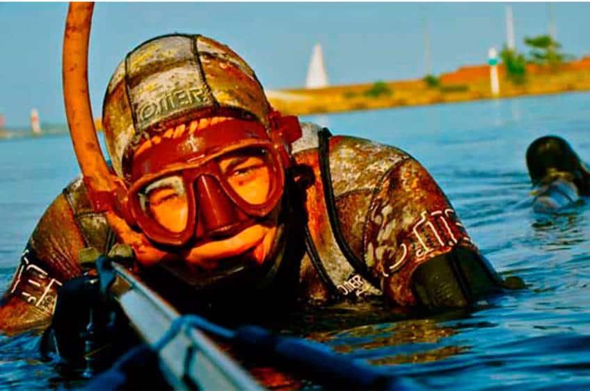undervandsjagt kursus