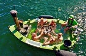 Kanalrundfart I En Flydende Spa Hos Copenhot