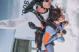 Skydiving Over Herning
