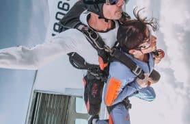 Skydiving Over Herning