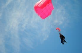 Skydiving Over Jylland