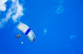 Skydiving Over Sjælland