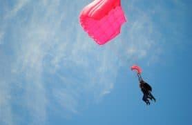 Tandemspring Hos Skydive2000
