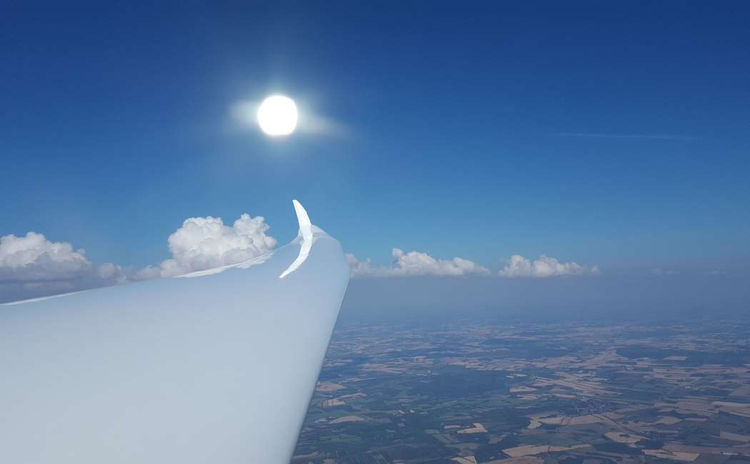 Prøvetur i Svævefly Med Flyslæb