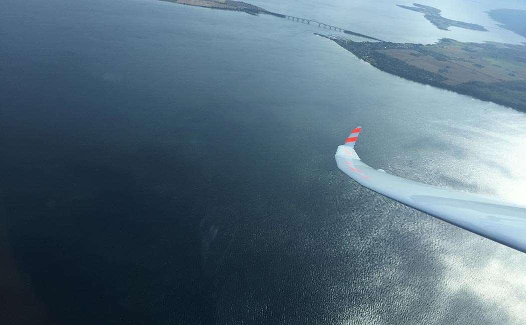 Prøvetur i Svævefly Med Spilstart