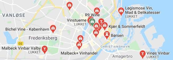 Anbefalet Vinsmagning København Lokationer
