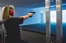 Pistolskydning Hos Hunters Game