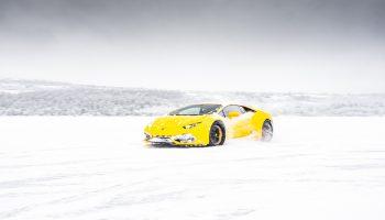 Kør Lamborghini På Bane Eller Landevej