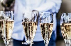 Champagnesmagning Nordhavn