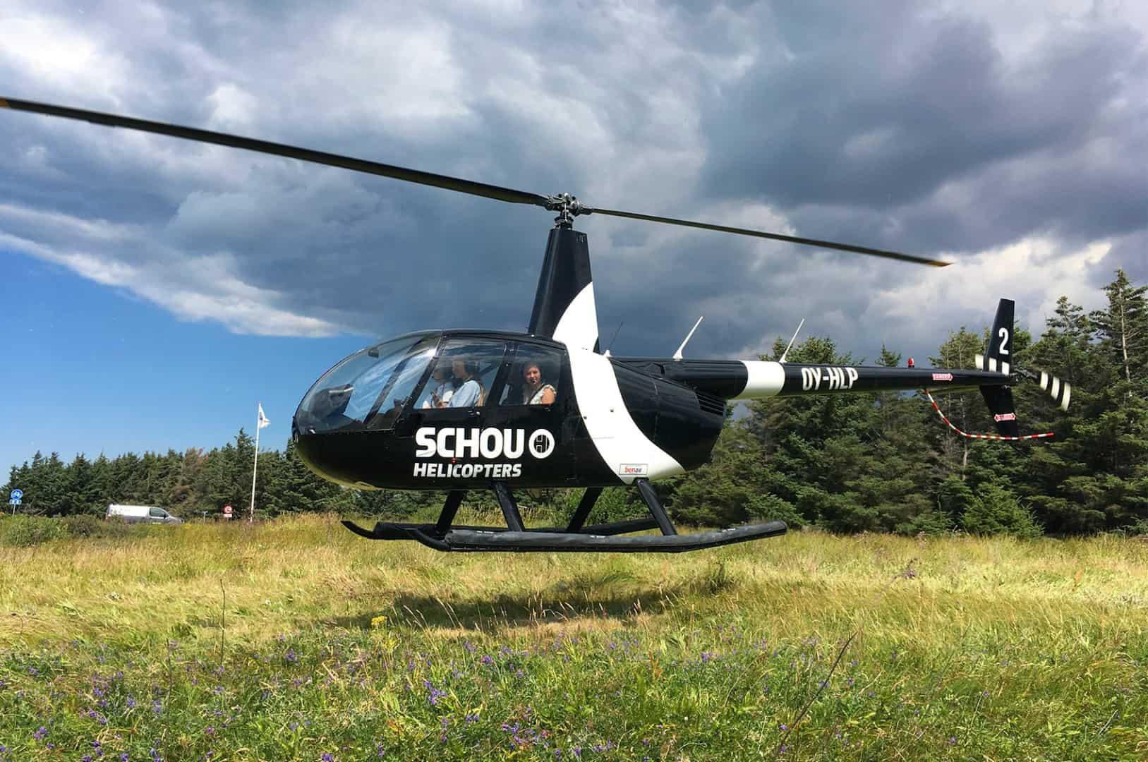Helikoptertur Med Sima Helikopter