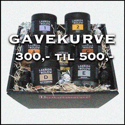 Gavekurve 300,- Til 500,-