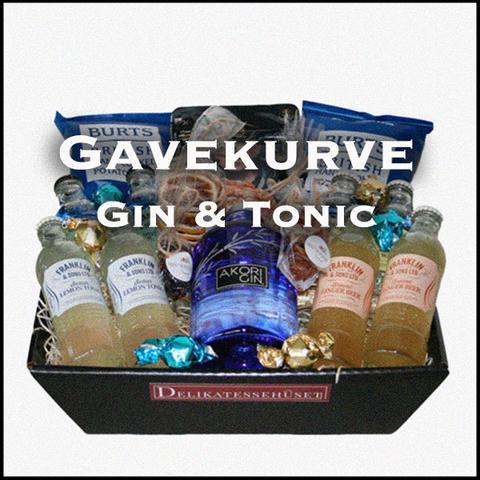 Gavekurve Gin & Tonic