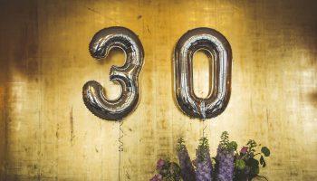 30 års fødselsdagsgave