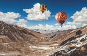 Ballonflyvning I Alperne