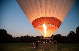 Gaveide Ballonflyvning