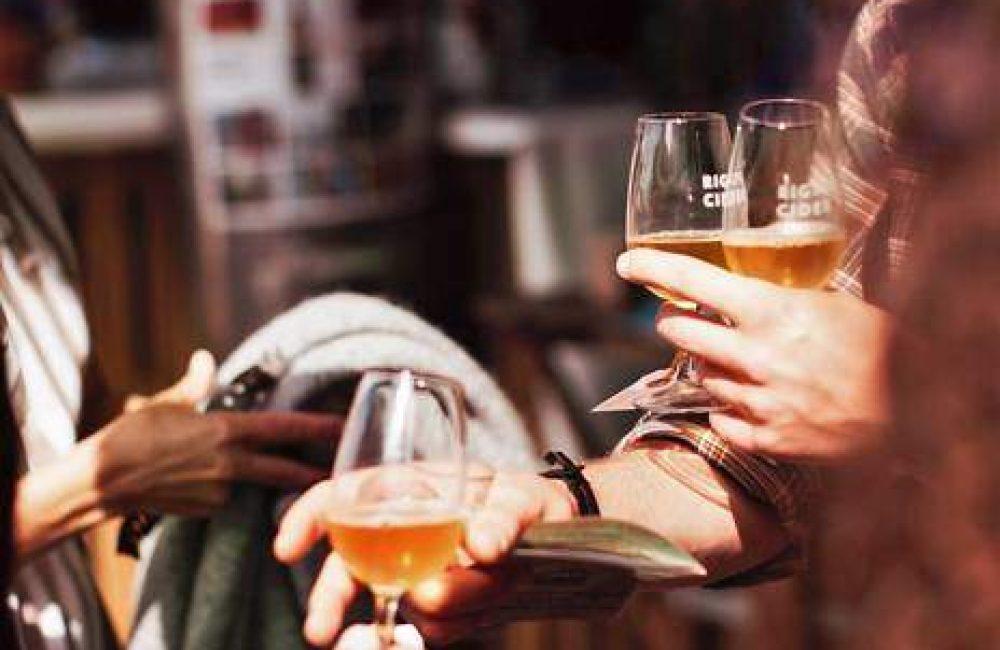 Cidersmagning hos Holm Cider
