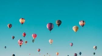 Flyv Luftballon Ved specielle Anledninger