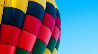 Flyv i Luftballon Over Silkeborg