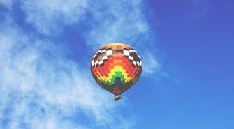 Flyv i Luftballon På Sjælland