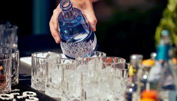Ginsmagning Trekantens Bartender
