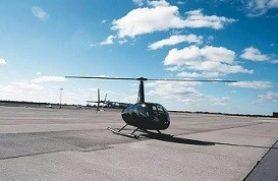 Helikoptertur i 18 års gave