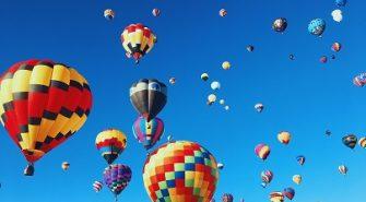 Hvornår Er Det Oplagt At Tage På Luftballon Flyvning