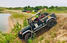 Kør 4x4 Offroad i grusgrav