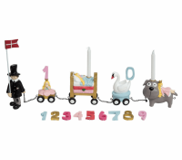 Kids by Friis fødselsdagstog H.C Andersen eventyr pige