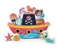 Le Toy Van balancespil - pirater