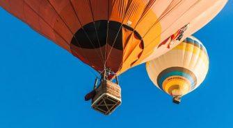 Oplev Solopgang i En Luftballon
