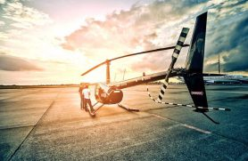 helikoptertur med HeliCompany