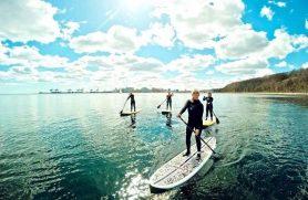 Gaveideer SUP-surf sauna med Surf Agency