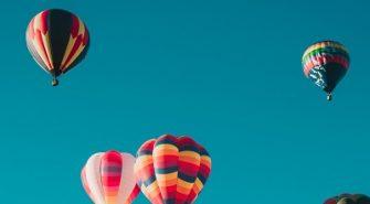 Tag På Tur i Luftballon Med Dine Kollegaer