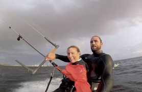Tandem Kitesurfing Kursus København