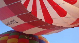 ballonflyvning over sjælland