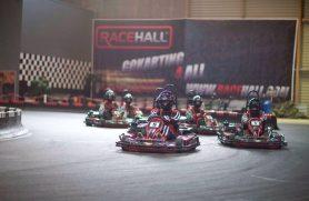 gokart F1-style hos Racehall Aarhus