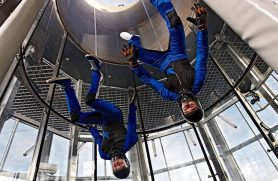 indoor skydivning