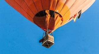 luftballon tur over sjælland